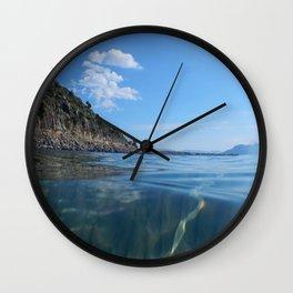 athens  Αθήνα sea Wall Clock