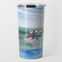 The Surfers Travel Mug