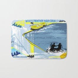 Whitewater Rafting Bath Mat