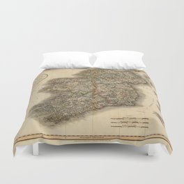 Vintage Maps Duvet Covers | Society6