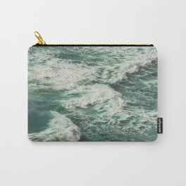 Wave Swirl Carry-All Pouch
