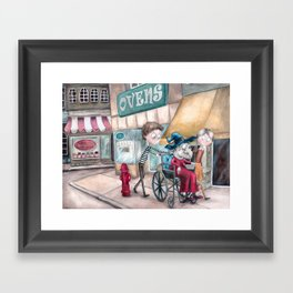 Sweets and Ovens Framed Art Print