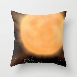 VY Canis Majoris Throw Pillow