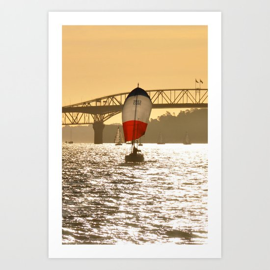 Sailboat 1 Art Print
