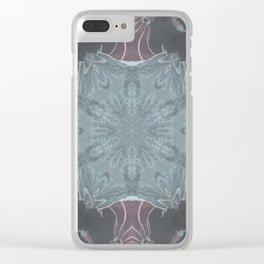 Samurai Mandala Clear iPhone Case