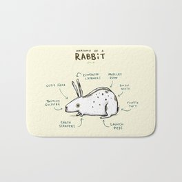 Anatomy of a Rabbit Bath Mat