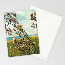 Thistles on the Beach Stationery Cards