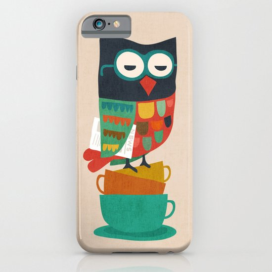 Morning Owl iPhone & iPod Case