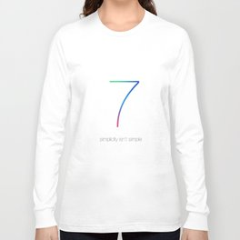 IOS 7 Long Sleeve T-shirt