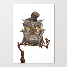 It surely was a hoot! Canvas Print