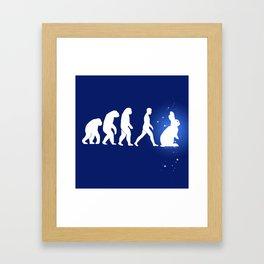 BunnElution Framed Art Print