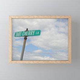 Tart Cherry Lane Framed Mini Art Print