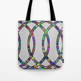 Kinetic Colors 9 Tote Bag