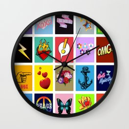 Something & Everything Wall Clock
