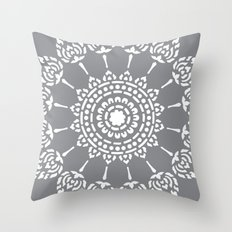 Thai Mandala Throw Pillow