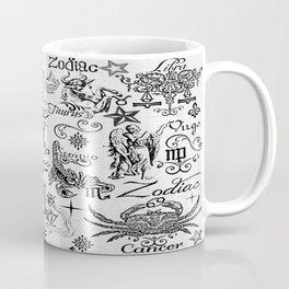 ZODIAC CANVAS CALLIGRAPHY Coffee Mug