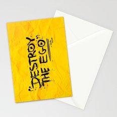 Destroy the Ego Stationery Cards