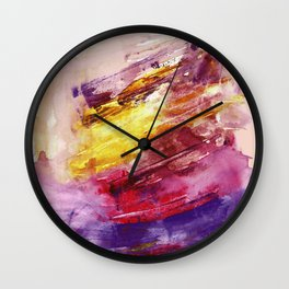 Blushed Wall Clock