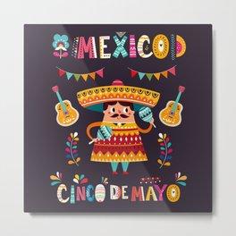 Cinco de Mayo – Mexico Metal Print