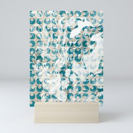 New Tendances light marble Mini Art Print