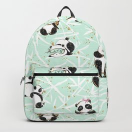 Panda Pattern 04 Backpack