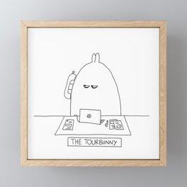 The TourBunny - Phone Framed Mini Art Print