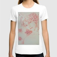 leah flores T-shirts featuring Flores. by marmaseo