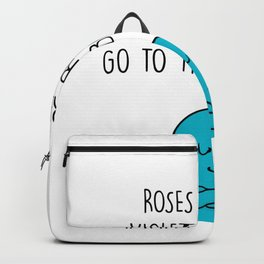 Funny, passionate Bathroom gift Backpack