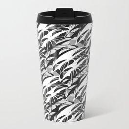 Alien Troops - Black & White Travel Mug