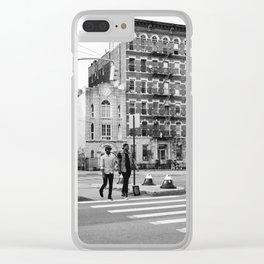 East Village IX Clear iPhone Case