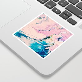 Ebb & Flow Marble Sticker
