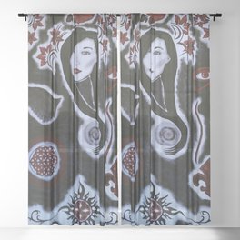 Divine Feminine Sheer Curtain