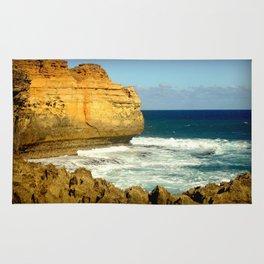 The rugged Coastline Rug