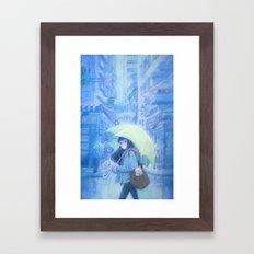 My Hometown---Hong Kong Framed Art Print