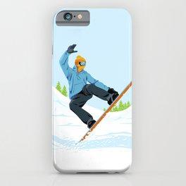 Snowboarder iPhone Case