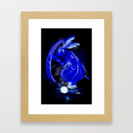 Moon Puddle Framed Art Print