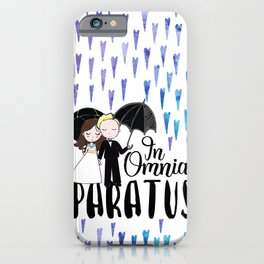 In Omnia Paratus iPhone Case
