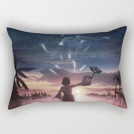 The sending Rectangular Pillow