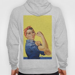 We Can Do It - Rosie the Riveter Poster Hoody