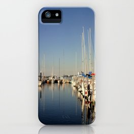 Paynesville Harbour iPhone Case