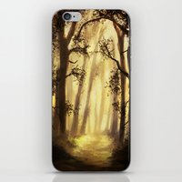 forrest iPhone & iPod Skins featuring The forrest by Richard Eijkenbroek