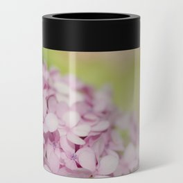 Pink Hydrangea Can Cooler