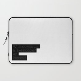 An Impasta! Laptop Sleeve