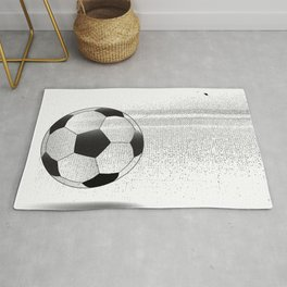 Moving Football Rug