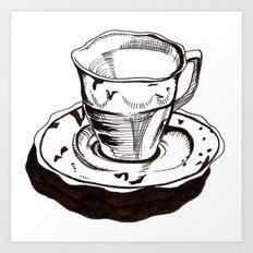 Teacup 1 Art Print