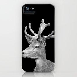 Deer Black iPhone Case