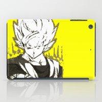goku iPad Cases featuring GOKU  by DeMoose_Art
