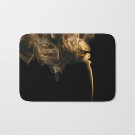 Smoky abstract Bath Mat