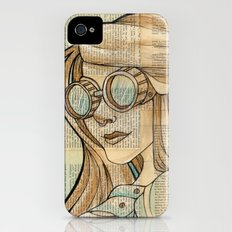 Iron Woman 1 Slim Case iPhone (4, 4s)