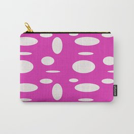 Pink Polka Dot Carry-All Pouch
